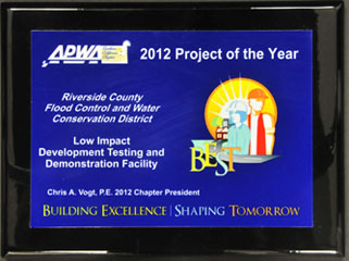 2012 Project of the Year - Stormwater Quality
