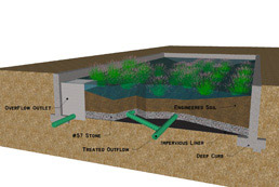 Bioretention Diagram