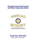 FY2020-2021 Annual Budget Cover Page Thumbnail