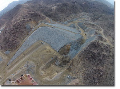 Eagle Canyon Dam in Palm Springs and Cathedral City.